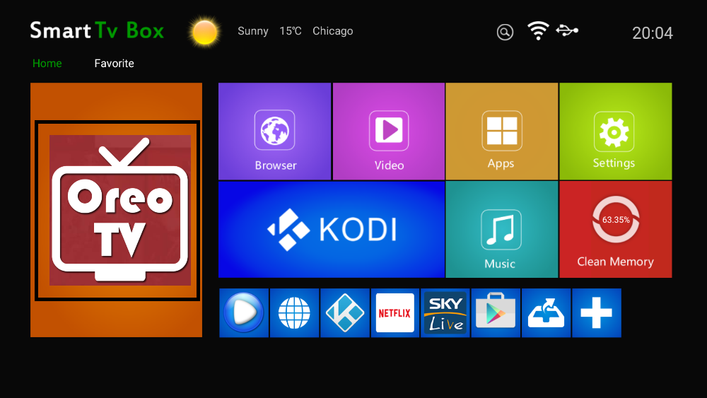 oreo tv for android tv box